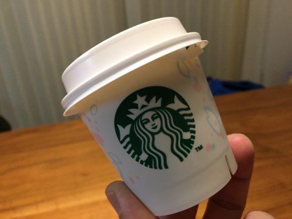 スタバのプリン ミルクカスタードのカップ