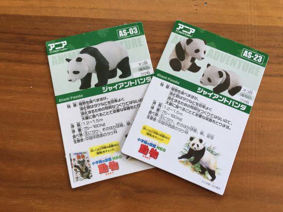 アニア 図鑑カード