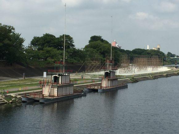 菅生神社 鉾船