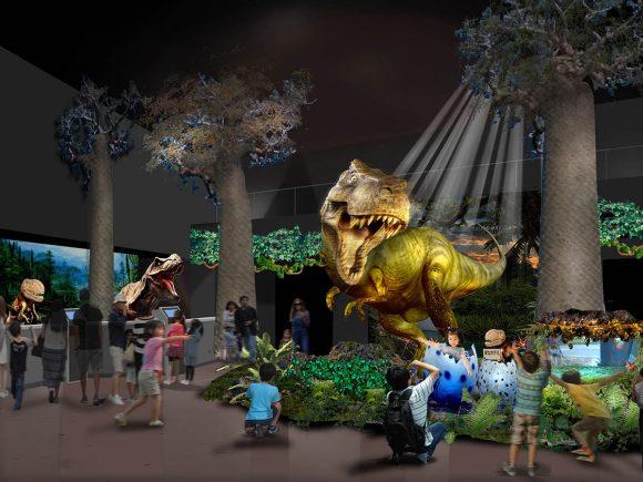 変なホテル 恐竜ロボット